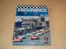 ENDURANCE 50ans d'histoire 1964-1981