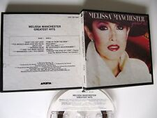 Melissa Manchester greatest hits 4 track 3 3/4 ips Reel Tape 1983 columbia house