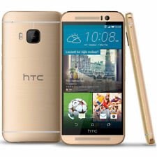 Gold - Unlocked Smartphone HTC One M9 32GB 3G/4G LTE Android NFC WIFI Octa-Core