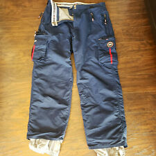 686 Enterprises Cargo Snowboard Snow Pants Navy Blue sz XXL 2XL Entrant GII-XT