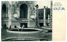 Coney Island Brooklyn NY-OPEN AIR CIRCUS AT DREAMLAND-TRAINED HORSE-Postcard