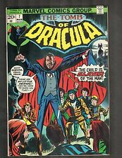Tomb of Dracula #7 ~ Child Slayer of the Man~ 1973 (8.0) Wh