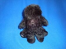 Ganz Webkinz Black Poodle Plush Only NO Code