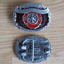 Firefighter profession belt buckle (choice designs)