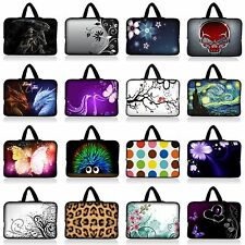 "17.3"" 17.4"" NEOPRENE LAPTOP NOTEBOOK SLEEVE BAG CASE W HIDDEN HANDLE FIT 16"" 17"""