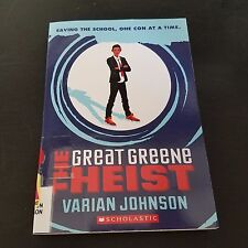 The Great Greene Heist by Varian Johnson paperback book FREE SHIPPING