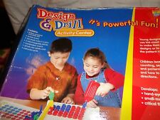 Educational Insights Early Learning Skills Design & Drill Activity Center Toy