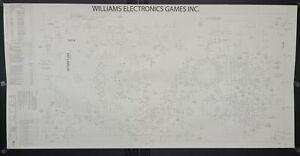 Williams Road Show Pinball - Factory Original Playfield Design Engineering CAD