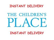 Six (6) Children's Place $10 Off $40 Coupon Childrens Place *Instant Delivery*