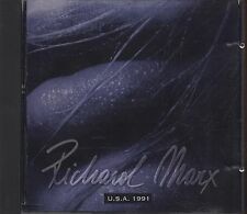 RICHARD MARX - U.s.a. 1991 - CD ITALY 1994 LIVE USATO OTTIME CONDIZIONI (D2)