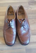 Loake Brown Leather 'Frontwell' shoes UK Size 7  Great Condition.