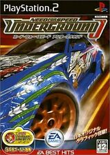 Used PS2 Need for Speed Underground EA Best Hits Japan Import