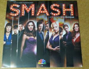 NBC SMASH TV 2014 Calendar Katharine McPhee Megan Hilty Jeremy Jordan FLASH