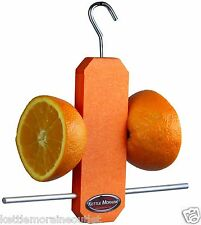 Kettle Moraine Recycled Plastic Single Oriole Orange Fruit Stick Feeder #8337