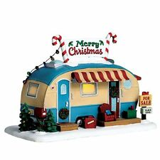 Lemax Christmas Trailer Lighted Village For Sale - 2017 edition