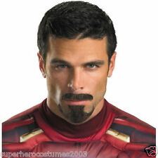 Avengers Iron Man Tony Stark Facial Hair Costume Prop Accessory Marvel Comics