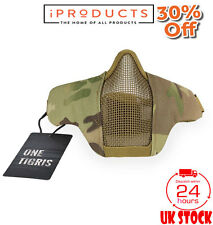 OneTigris Foldable Half Face Mask Protective Mesh Mask For Airsoft