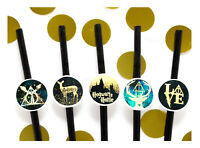 Coco&Bo 10 x Hogwarts Hotties Hen Party Cocktail Straws Harry Potter Decorations