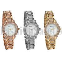 Luxury Women's Ladies Bracelet Watches Rhinestone Dial Analog Quartz Wrist Watch
