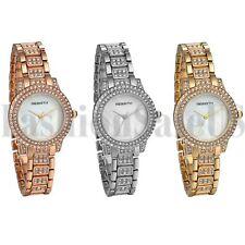 Роскошный женский браслет дамы часы со стразами циферблат аналоговые кварцевые наручные часы