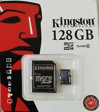 Kingston Micro SD 128GB Class10 Memory Card SDXC With Adapter For Mobile, Camera