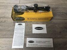 Weaver Kaspa 1.5-6X32 Illuminated Ballistic-X Tactical Scope