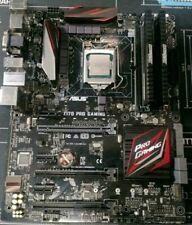 Asus Z170 Pro Gaming Mainboard + Intel i7 6700K +16GB DDR4