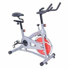 Sunny Health Fitness SFB1421B Belt Drive Indoor Cycling Bike Burn Extra Calories
