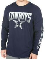 New with tags Dallas Cowboys NFL Football Long Sleeve t-shirt men's XXL NWT navy