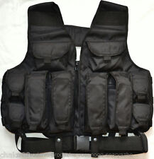 Russian Army Spetsnaz TARZAN Vest Black with Belt
