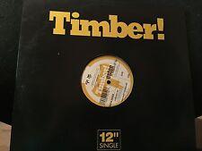 """ESTEE ALL BECAUSE OF YOU 2 LP 12"""" REMIXES 1998 TIMBER! TB 479 D"""