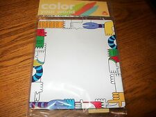 Wendy's Color Your World Craft Endless Art Board Kids Meal Toy NIP