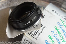 Mamiya 645 M645 Extension Tube No.2 boxed  645J 1000S ETC