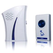 Electric Wireless Doorbell Remote Control Smart Bell Indoor Receiver Security