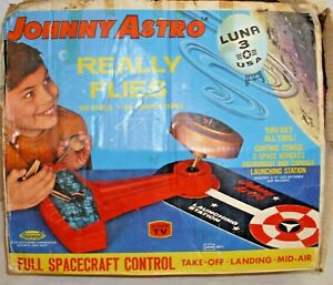 JOHNNY ASTRO LUNAR SPACE BATTERY TOY PLAY SET BOXED TOPPER TOYS WORKS