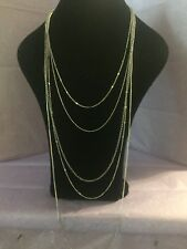 """banana republic necklace silver 20"""" Long"""