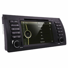 Car DVD Player GPS Stereo BT Touch Screen RDS AutoRadio for BMW E53 X5 5Series