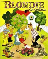 Vintage Uncut 1953 Blondie Paper Dolls~#1 Reproduction~Nostalgic~8 Pgs Clothing!