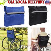 Backpack Storage Wheel Chair Reflective Lightweight Pouch Purse Wheelchair Bag