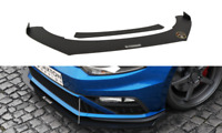 FRONT RACING SPLITTER Ver.2 (WITH WINGS) VW POLO MK5 GTI FACELIFT (2015-UP)