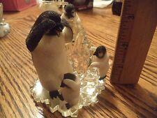 "Hamilton Collection Polar Playmates ""Peek A Boo "" Figurine"
