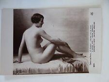 SALON DE PARIS - NUDE POSTCARD G GUEDY - JEUNE FILLE NUE - A NAKED GIRL - # 6255