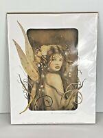 David Delamare Gentiana Print Fairy Mermaids Fantasy Art 2004