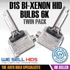 D1S Bi Xenon 6000K for BMW F30 F10 E90 X5 X6 FORD FOCUS HID Bulbs Pair FLASH 6k
