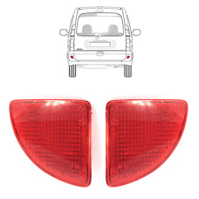 A PAIR OF REAR BUMPER REFLECTOR LEFT/RIGHT SIDE FITS RENAULT KANGOO 1997 to 2008