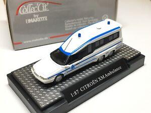 1/87 Makette Citroen XM Ambulance Resin Sehr Selten mit OVP 1/87