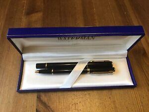 Waterman Laureat II Füllfederhalter M + Kügelschreiber Schreibset