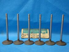Chevrolet GMC 351 379 401 478 702 Intake Valve Set 6 2439976 NOS 1960 - 1974 USA