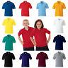 Kids Boys Girls Childrens School Polo Shirt Plain Russell Jerzees 539B Free PnP