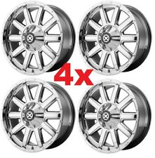 22 CHROME WHEELS RIMS 6X139.7 6X5.5 ATX